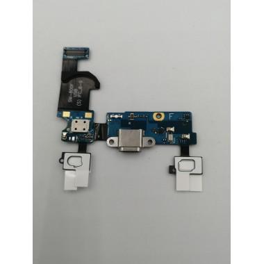 Шлейф для Samsung Galaxy S5 mini SM-G800H плата системный разъем/микрофон/HOME