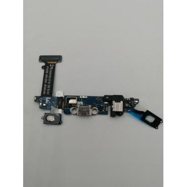 Шлейф для Samsung Galaxy S6 (SM-G920F) плата системный разъем/разъем гарнитуры/микрофон/HOME
